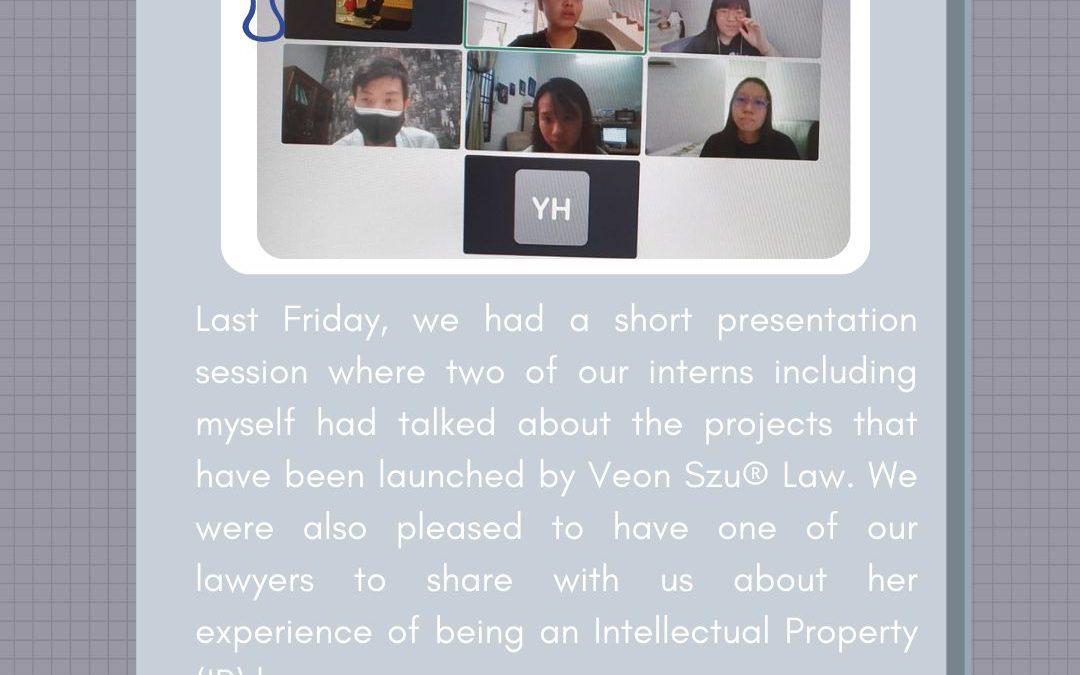 Internship Programme 2nd Update